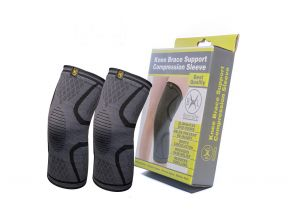 Bennlife Knee Brace Support Compression Sleeves (1 Pair)