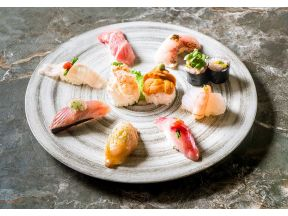 SAKANA NO AJI - Omakase Nigiri Sushi Lunch 10 pcs with Handroll (Saturday to Wednesday and Public Holiday Only) (1 person)