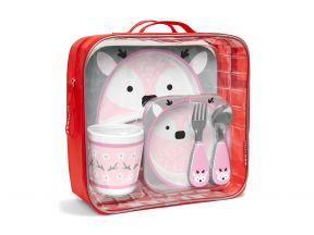 [Christmas] Skip Hop Zoo Mealtime Gift Set Winter Edition (1 set)