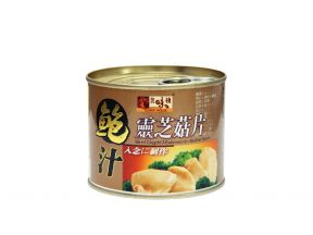 Yummy House Sliced Lingzhi Mushroom with Abalone Sauce (200g) (1 can)