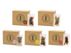 Nam Pei Hong Floral Tea Set (10 pcs/ pack)