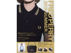 Fred Perry 2019 Summer - Japanese Magazine (1 pc)
