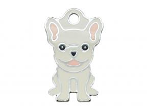 Thérèse Tags French Bulldog Dog Tag (Small) (1 pc)