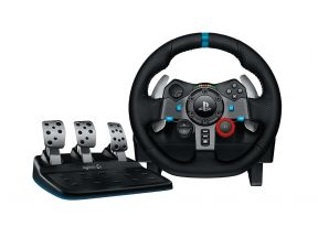 Logitech G29 Driving Force (Compliable with PS3/PS4) (1 pc)