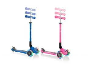 Globber PRIMO FOLDABLE LIGHTS Scooter (1 pc)