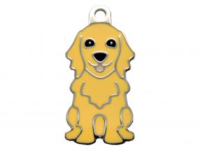Thérèse Tags Golden Retriever Dog Tag (Large) (1 pc)