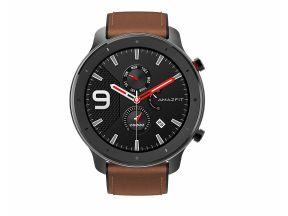 Amazfit GTR 47mm Aluminum Alloy Smart Watch - Black (1 pc)