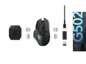 Logitech G502 Lightspeed Wireless Gaming Mouse (1 pc)