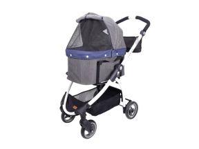 IBIYAYA CLEO Travel System Pet Stroller (Denim) (1 pc)