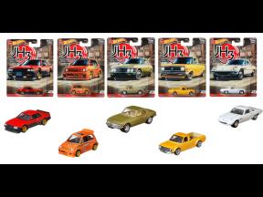 Hot Wheels Car Culture Diecast Car Set (Japan Historic) (1 set 5 pcs)