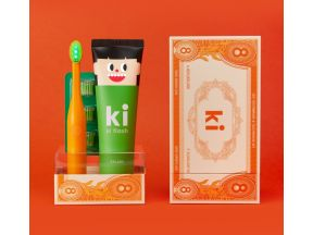 E:FLASH ki Green LED Anticavity Toothbrush Set (1 set)