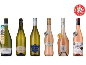 6-bottle French Rosé & Italian Sparkling Case (1 set)