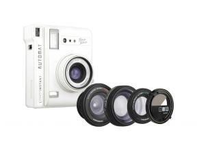 Lomo Instant Automat Camera and Lenses Set (White) (1 set)