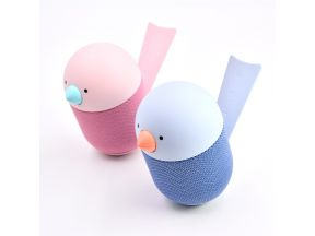 Libratone Bird Portable Bluetooth Speaker (Blue & Pink) (1 pc)