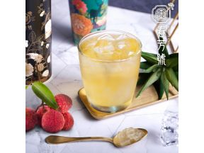 Chun Fun How - Lychee Four Seasons Tea with Aloe Vera (1 cup)