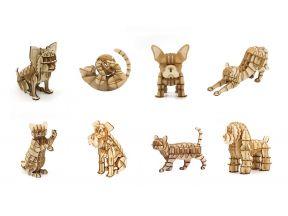 JIGZLE 3D PLYWOOD PUZZLE - Pets Series (1 pc)