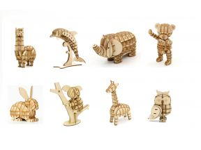 JIGZLE 3D PLYWOOD PUZZLE - Animal Series (1 pc)