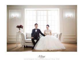 Mina Korean Style Wedding Photography Studio Package (1 time)