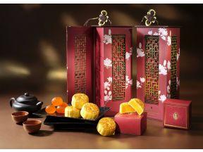 InterContinental Grand Stanford Hong Kong - Mini Egg Custard Mooncakes (1 box)