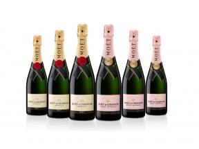 Moët & Chandon Brut Impérial Champagne 75cl  (3 bottles) + Moët & Chandon Rosé Impérial Champagne 75cl (3 bottles)