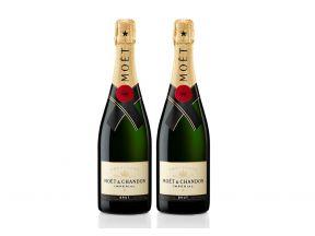 Moet & Chandon Brut Imperial Champagne 75cl (2 bottles) (Legitimately-Imported Goods)