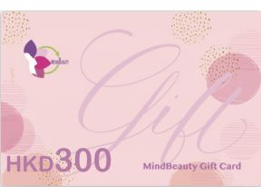 MindBeauty Gift Card HK$300 (1 pc)