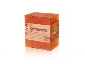 Natural Suds – Ginger Soap (1 pc)