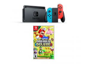 Nintendo Switch Bundle Set (Neon Blue/Neon Red) (Legitimately-Imported Goods) (1 pc)