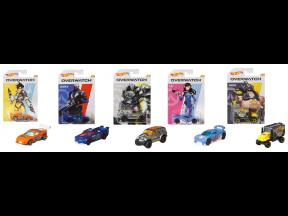 Hot Wheels Themed Entertainment Diecast Car Set (Overwatch) (1 set 5 pcs)
