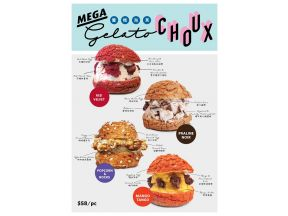 Owl's Choux - Gelato Choux (choose 1 of 4) (1 pc)