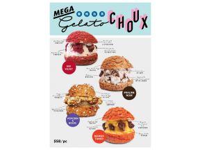 Owl's Choux - Gelato Choux (choose 1 of 4) (1 pc)