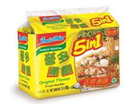 Indomie Fried Noodles (80g- 5pcs) (1 Pack)