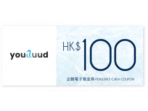 $100 youduud - Penguin E-cash coupon (1 pc)
