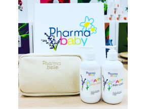 Pharmababy - Lavender & Camomile (aloe vera base) HAPPY Wash & Lotion Set (1 set)