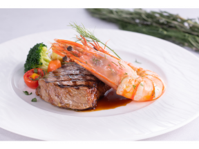 "Royal Pacific Hotel - Pierside Bar & Restaurant 4-course ""Taste of Ocean"" Dinner Menu (Monday to Saturday) (1 person)"