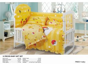 CASABLANCA - 12pcs Pokemon Baby Gift Set #PM001 (1 set)