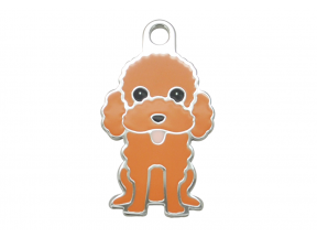 Thérèse Tags Poodle Dog Tag (Small) (1 pc)