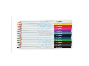 Stuck on You - Personalised Positivity Coloring Pencils (1pc)