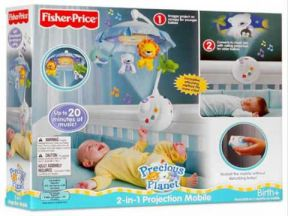 Fisher-Price - Precious Planet 2-in-1 Projection Mobile (1 pc)