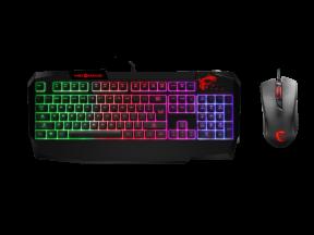 MSI Vigor GK40 Gaming Keyboard and Mouse Combo (1 set)