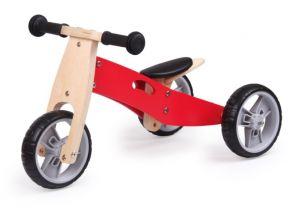 Udeas 2 in 1 Wooden Mini Bike (1 pc)
