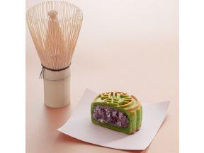 Wangyue - Matcha Red Bean Mooncake Gift Box (4 pcs) (1 box)