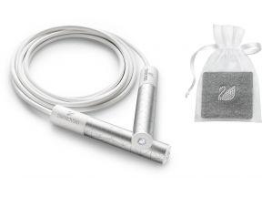 Swarovski White Collection Sporty Set - Sweat Band & Jump Rope (1 set)