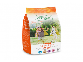 PETSSION Life Care - Salmon & Rice for Dog 5 lbs (1 bag)
