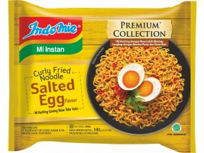Indomie Curly Fried Noodles Salted Egg Flavour (100g) (3 pcs)