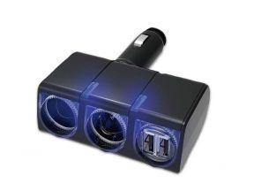 Japanese SEIKO EM-151 Charger (2x 12V/24V Socket + 2x USB) (1pc)