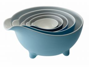 Loveramics - Tripod Set of 5 Bowls Set (Blue) (1 set)