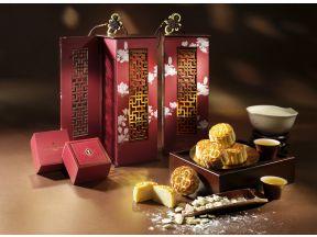 InterContinental Grand Stanford Hong Kong - Signature Almond Cream Mooncakes (1 box)