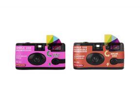 Lomo Simple Use Camera LomoChrome Purple + Metropolis (1 set)