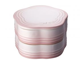 Le Creuset Stacking Flower Ramekin with Lid(1 pc)